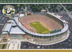 Green Bay WI, Wisconsin - Packers Football Game at Lambeau Field
