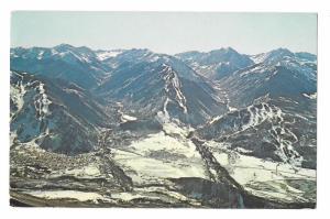 3 Aspen ski runs Aspen Mountain Highlands Buttermilk Mt View South Postcard