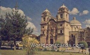 La Iglesia de la Compania de Jesus, Jesuit Church Cuzco, Peru 1908