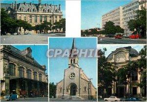 Modern Postcard Paris 13th Arrondissement Aspects