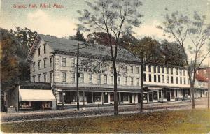 Athol Massachusetts Grange Hall General Exterior View Antique Postcard V16143