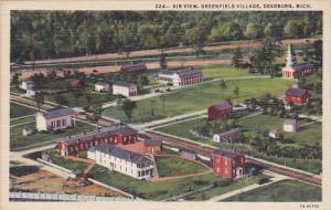 Air View Greenfield Village Dearborn Michigan