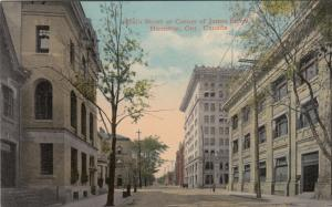 HAMILTON , Ontario, Canada, 1900-10s ; Main Street at James Street andygod62