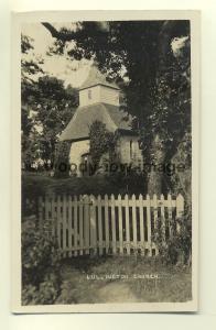 cu1679 - Lullington Church , Somerset - postcard