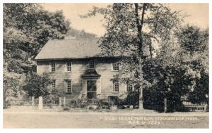Massachusetts Stockbridge  Mission House Museum