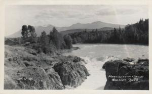 RP, BRITISH COLUMBIA, Canada, 1930-40s; Morristown Canyon , Bulkley River