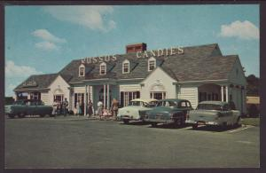 Russo's Candy House,Lynn Falls Parkway,Saugus,MA Postcard