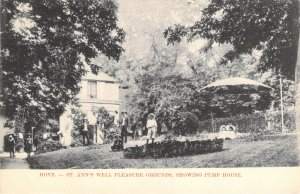St Ann's Well Gardens Pleasure Grounds Pump House Hove Sussex England Postcard