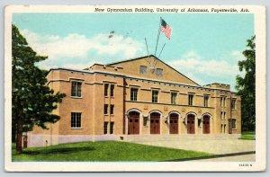 Fayetteville Arkansas~University of Arkansas~New Gymnasium Building~1955