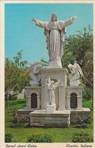 Indiana Munster Sacred Heart Statue Of Christ Carmelite Shrines