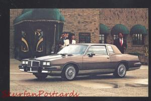 1984 PONTIAC GRAND PRIX VINTAGE CAR DEALER ADVERTISING