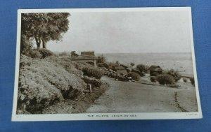 Vintage Tucks Postcard The Cliffs Leigh-On-Sea Essex G1C
