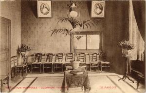 CPA  Institution Monangers - Clermont-Ferrand - Le Parloir  (221849)