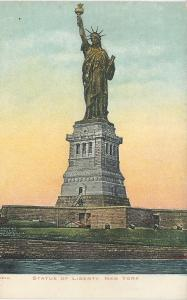 Statue of Liberty, New York, N.Y., Early Postcard, Unused