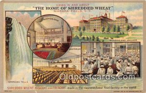Shredded Wheat Biscuit & Triscuit Niagara Falls, NY, USA Unused