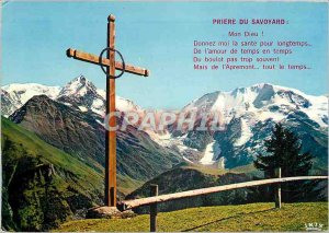 The Modern Postcard Mont Blanc and the Domes of Miage from the plateau of the...