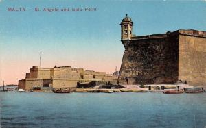 Malta St. Angelo and Isola Point Boats