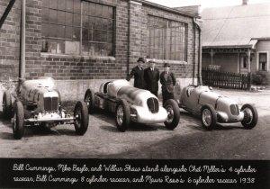 Race Cars - 1938. Cummings, Boyle & Shaw  (5.75 X 4 Photo Reprint)