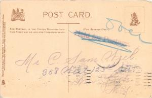 BETWEEN YOU AND ME...H COWHAN~ ARTIST SIGNED~TUCK WRITE AWAY POSTCARD 1905