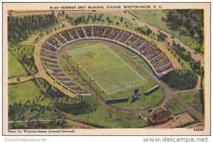 Bowman Gray Memorial Stadium Winston-Salem North Carolina