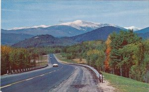 Route 16 At Intervale New Hampshire 1964