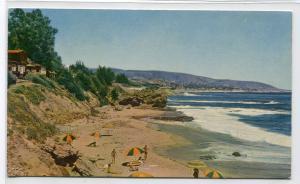 Laguna Beach Union Oil Company California postcard
