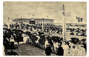 NJ Asbury Park Baby Parade Day Boardwalk Arcade Vintage 1909