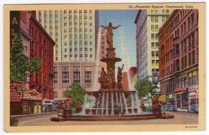 Cincinnati, Ohio, Fountain Square