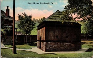 Postcard PA Pennsylvania Philadelphia Block House Unposted