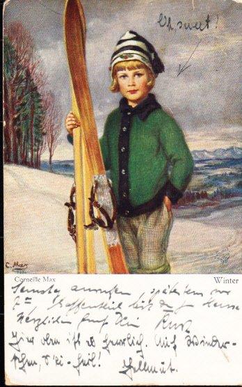 Girl Skier - Corneille Max