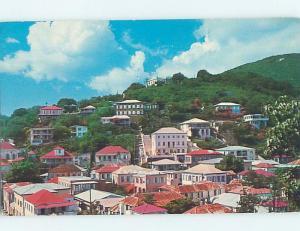 Pre-1980 HOUSES ON DENMARK HILL St. Thomas Us Virgin Islands USVI F5680