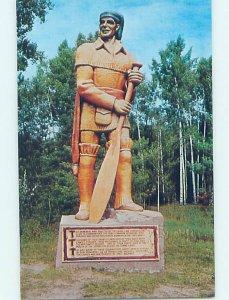 Pre-1980 MONUMENT SCENE Crane Lake - Near Hibbing & Fort Frances MN AE7330