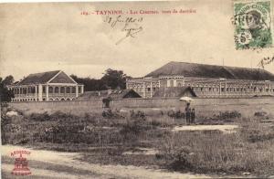 CPA Vietnam Indochine TAYNINH - Les Casernes, vues de derrière (61568)