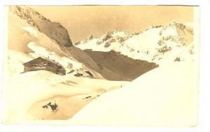 RP: Ski resort, Innsbruck , Austria, 1910-30s