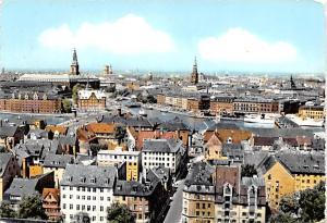 Copenhagen Denmark, Danmark View over Copenhagen View over