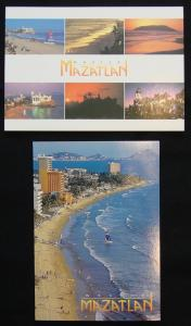 Mazatlan Mexico (2) Postcards Unused