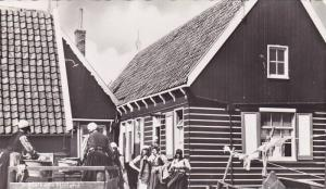 RP, Woman Washing Clothes, Marken (North Holland), Netherlands, 1920-1940s