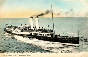 P&A Campbell's Bristol Channel Pass Steamers - PS Ravenwood