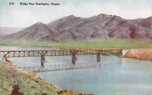 Bridge Near HUNTINGTON, Oregon, 1900-1910s