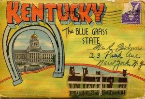 Folder -  Kentucky, The Bluegrass State     (20 views)