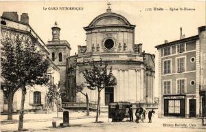 CPA Le Gard Pittoresque - UZES - Église St-Etienne (459273)