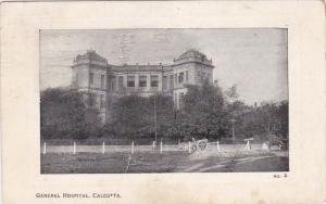 India Calcutta General Hospital 1912