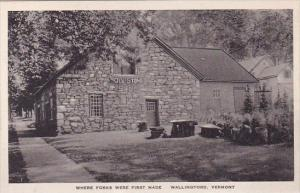 Where Forks Were First Made Wallingford Vermont Albertype