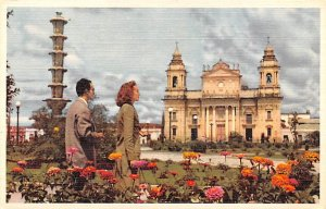 Cathedral in the background Guatemala, Central America Unused