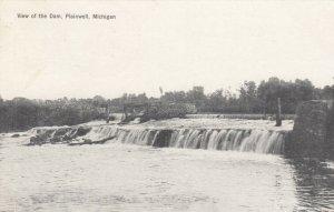 PLAINWELL, Michigan, 1917; View of the Dam