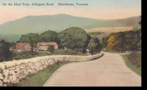 Vermont Manchester On The Ideal Tour Arlington Road Albertype