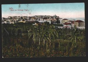 117208 Palestine Israel JAFFA Blick von Hardeggs HOTEL Vintage