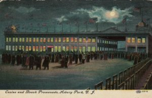 ASBURY PARK , New Jersey , 1910 ; Casino at night