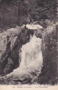 GIMEL, Correze, France, 1900-1910's; Les Cascatelles
