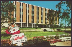 Kellogg Co,Battle Creek,MI Postcard